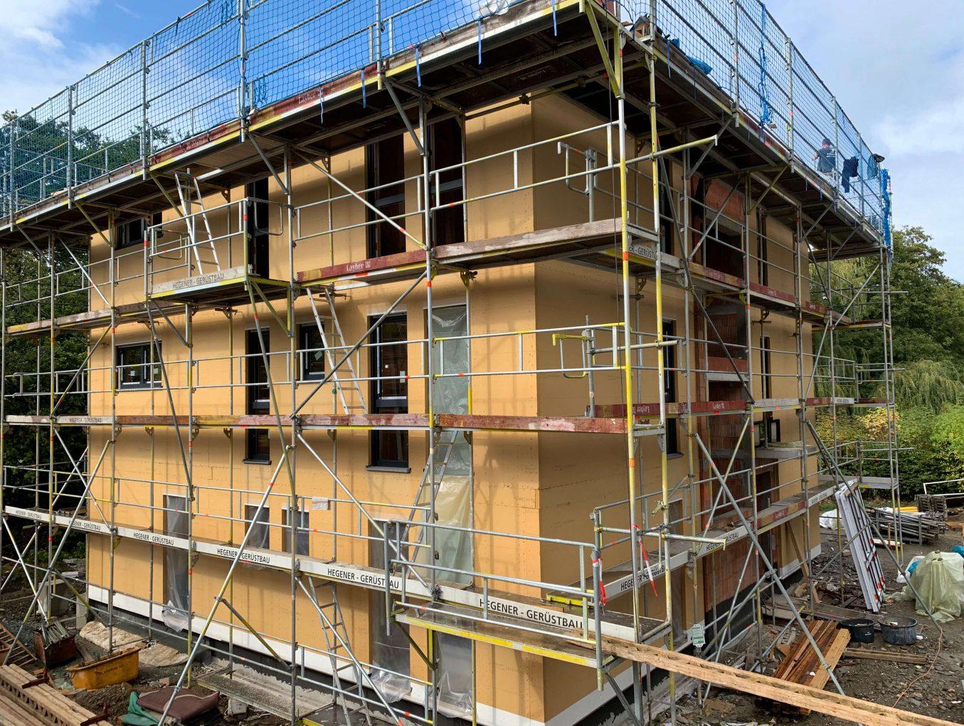 Mehrfamilienhäuser in Holzrahmenbauweise