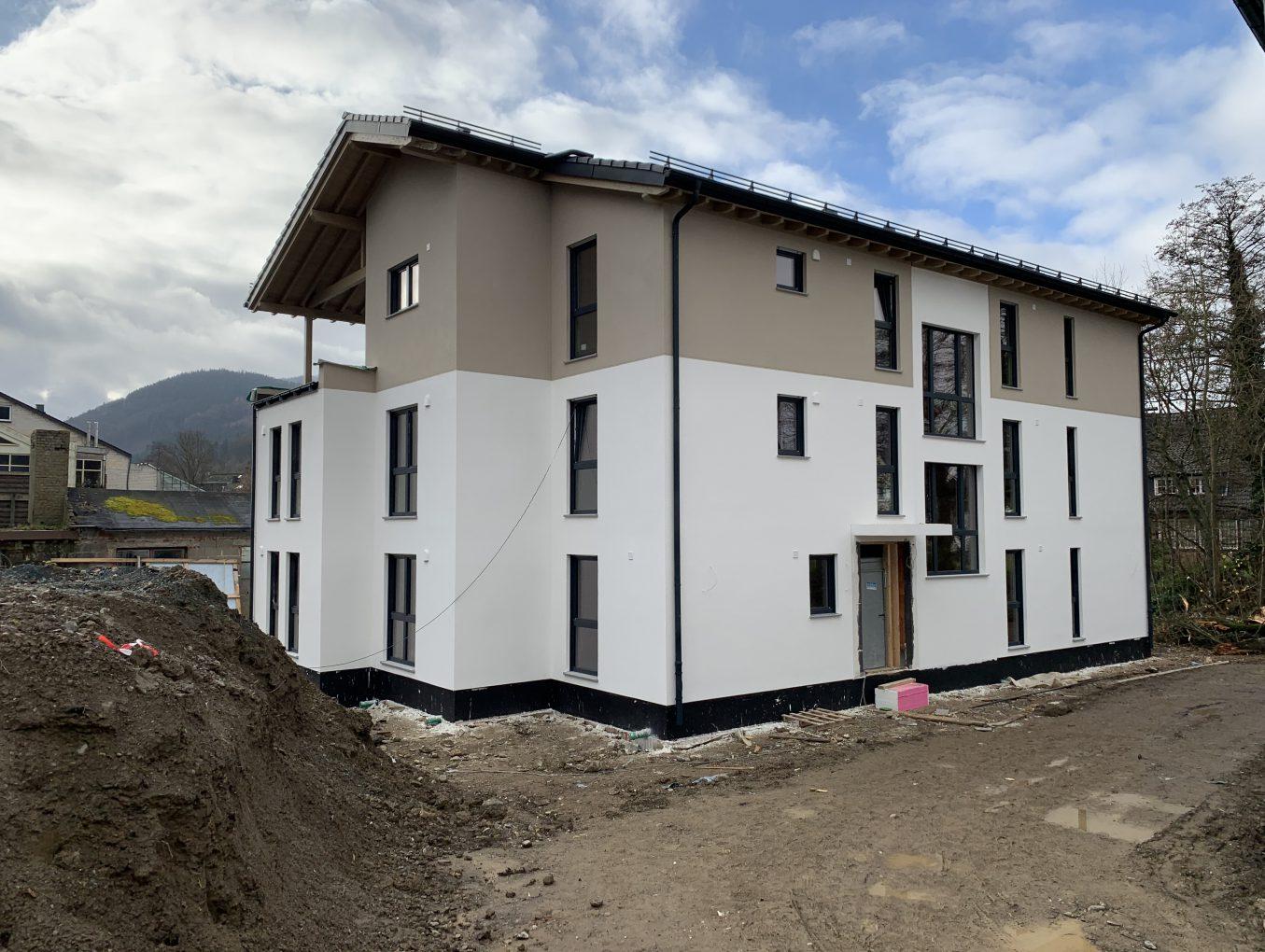 Tag der offenen Baustelle -Mehrfamilienhäuser in Holzrahmenbauweise